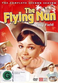 Flying Nun, The - Complete Season 2 (3 Disc Set) on DVD image