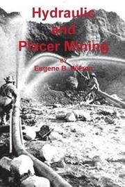 Hydraulic and Placer Mining by Eugene B Wilson