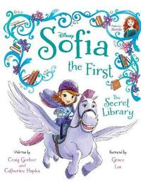 Disney Junior Sofia the First The Secret Library by Craig Gerber image