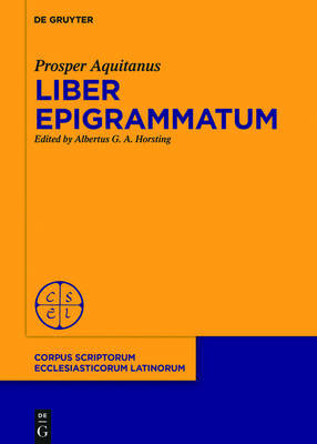 Liber Epigrammatum by Prosper