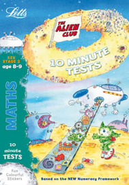 Aliens Quick Test: Maths 8-9: age 8-9 by Lynn Huggins Cooper image