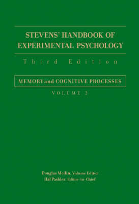 Stevens' Handbook of Experimental Psychology, Third Edition, Volume Two image