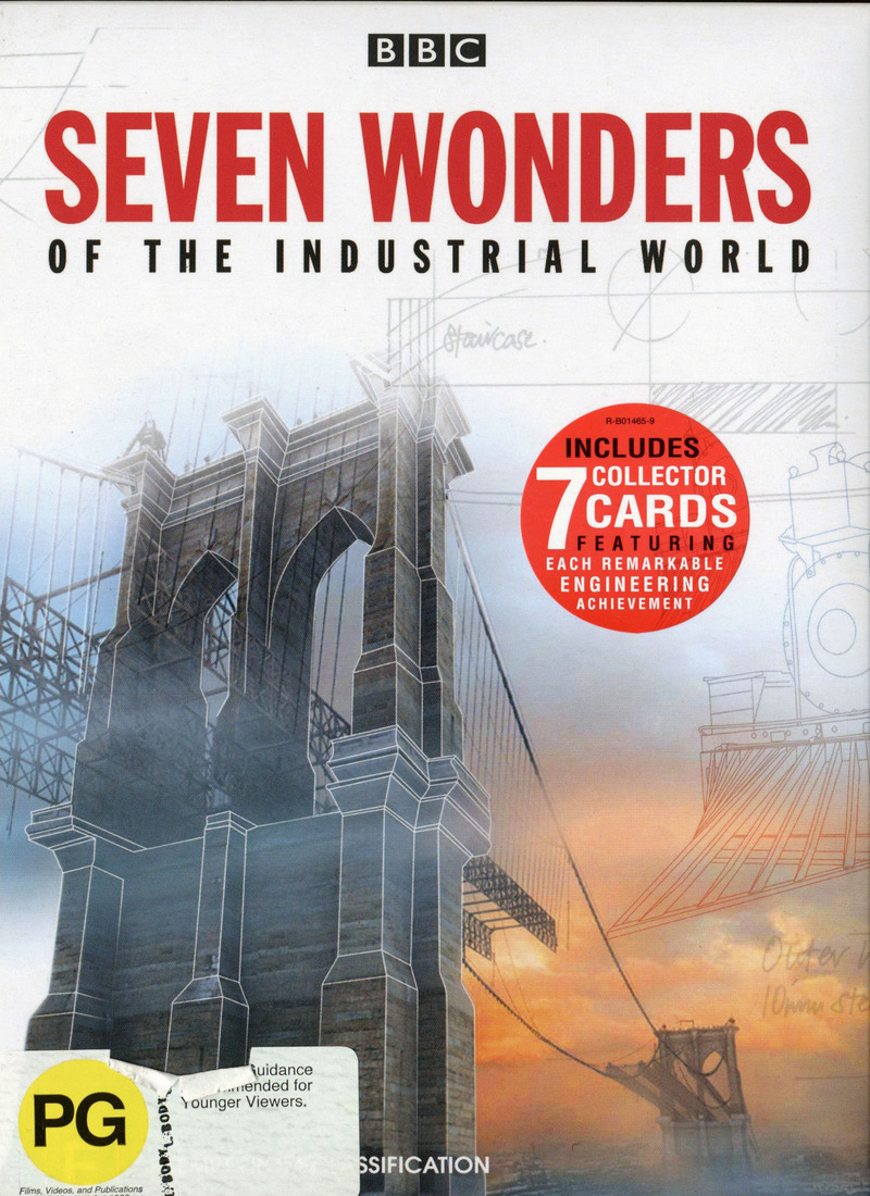 Seven Wonders of the Industrial World on DVD image