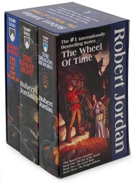 Wheel Of Time Boxed Set Volume 1 Books 1 3 Robert