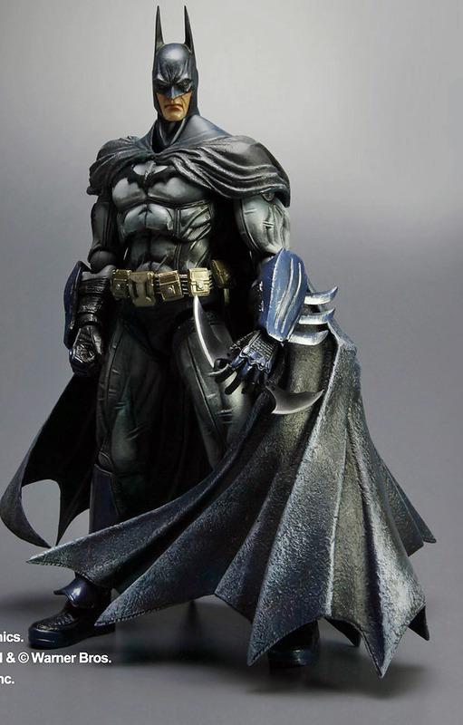 Batman Arkham Asylum Play Arts Action Figure - Batman