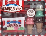 Melissa & Doug: Scoop & Stack Ice Cream Cone Playset