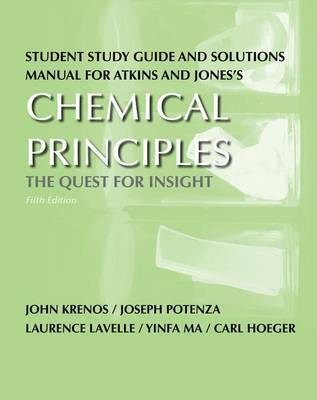 Study Guide/Solution Manual for Chemical Principles by Peter Atkins image