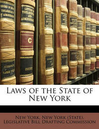Laws of the State of New York by New York