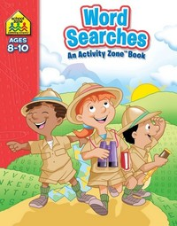 School Zone Word Searches Activity Zone Book