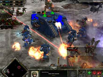 Warhammer 40,000: Dawn of War Winter Assault (Gamer's Choice) for PC Games image