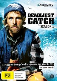 Deadliest Catch  - The Complete 1st Season (Discovery Channel) (3 Disc Set) on DVD image