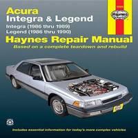 Acura Integra & Legend (86 - 90) by Ken Freund