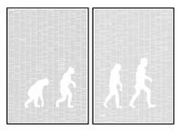 Spineless Classics The Origin Of Species Print (Two Prints - 100 x 70cm)