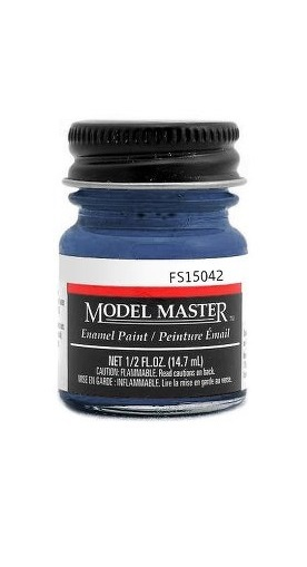 Testors: Enamel Paint - Dark Sea Blue (Semi-Gloss)