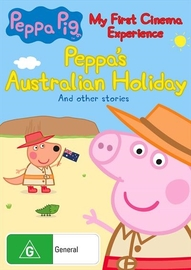 Peppa Pig: My First Cinema Experience: Peppa's Australian Holiday on DVD