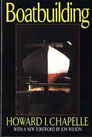 Boatbuilding by Howard Irving Chapelle