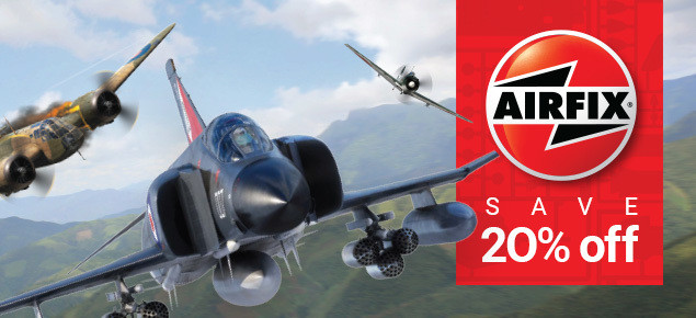 Save 20% off Airfix!