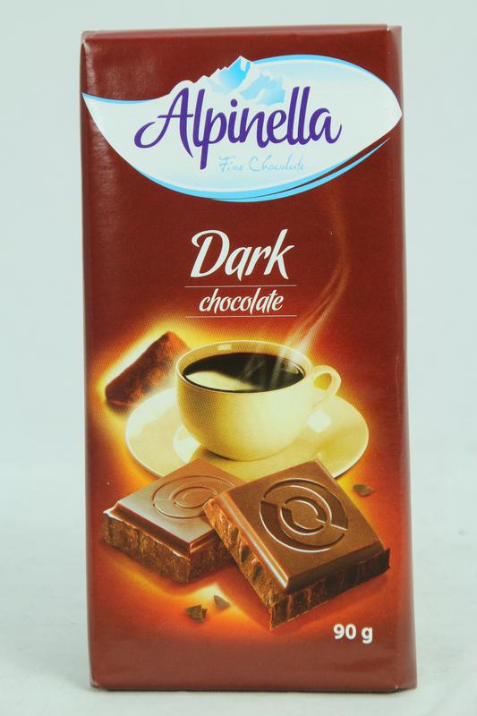 Alpinella Fine Chocolate Dark 90g 22pk