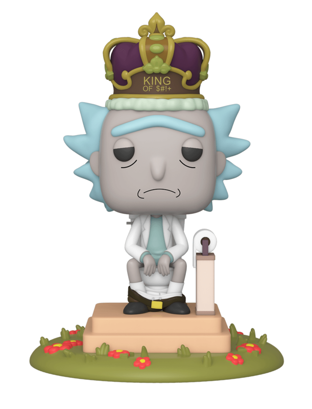 Rick & Morty: Rick on Toilet - Pop! Deluxe Figure