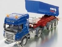 Siku: Radio-Control Replicas - Scania w Tipping Trailer