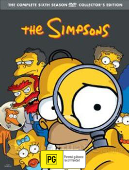 The Simpsons - The Complete Sixth Season on DVD image