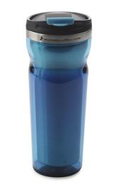 Maxwell & Williams Double Wall Travel Mug - Blue (450ml)