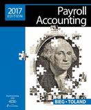 Payroll Accounting 2017 (with Cengagenow V2, 1 Term Printed Access Card) by Bernard J. Bieg