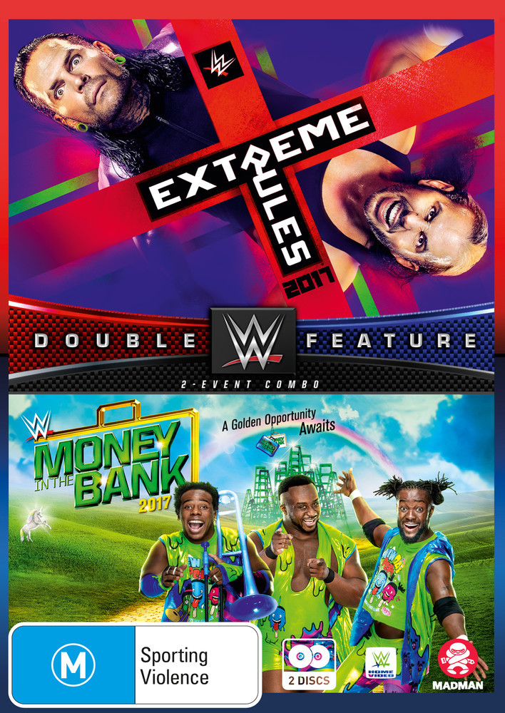 WWE: Extreme Rules/Money In The Bank 2017 on DVD image