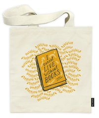 The New Yorker: Books - Canvas Tote Bag