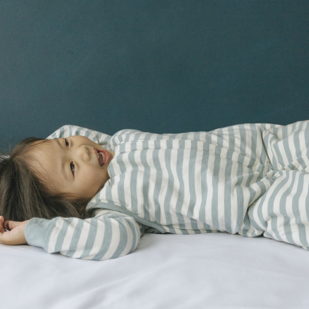 Woolbabe Duvet Zip Front Sleep Bag - Tide (2-4 Years) image
