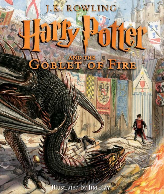 Harry Potter and the Goblet of Fire: The Illustrated Edition by J.K. Rowling