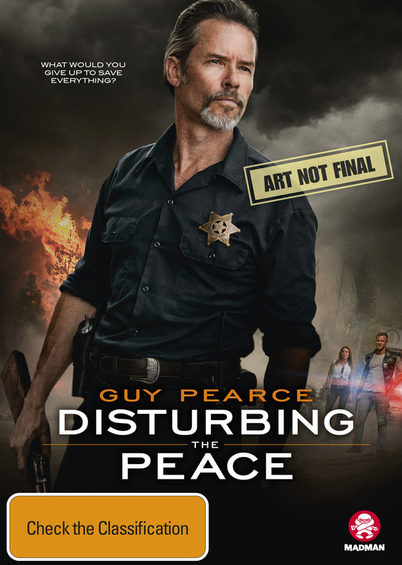 Disturbing The Peace (2019) on DVD