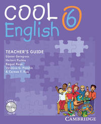 Cool English Level 6 Teacher's Guide with Audio CD and Tests CD: Level 6 by Guenter Gerngross image