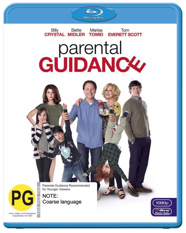 Parental Guidance on Blu-ray