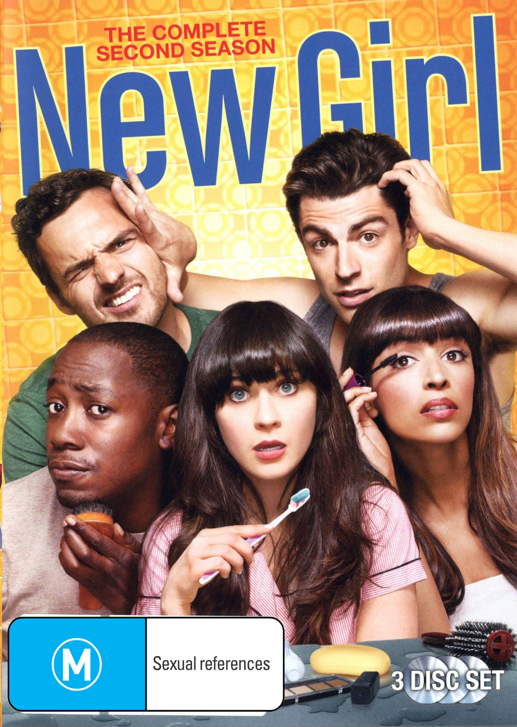 New Girl - The Complete Second Season on DVD image