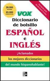 Vox Diccionario De Bolsillo Espanol Y Ingles by Vox