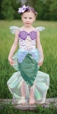 Pretenz Mermaid with Tiara - Blue (Medium)