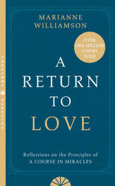 A Return to Love by Marianne Williamson image