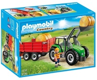 Playmobil: Country Large Tractor with Trailer (6130)