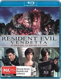 Resident Evil: Vendetta on Blu-ray