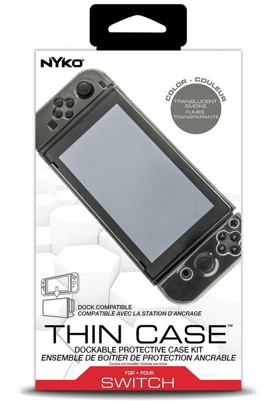 Nyko Switch Thin Case (Smoke) for Switch
