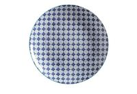 Maxwell & Williams Mazara Plate - Blue Mosaic (27cm)