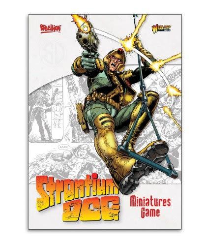 Strontium Dog A4 Rulebook image