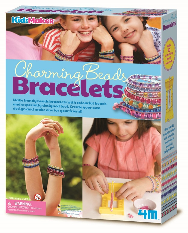 4M KidzMaker - Charming Bead Bracelets