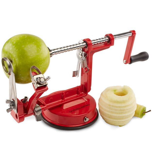 Ape Basics: 3-in-1 Stainless Steel Apple Peeler Corer