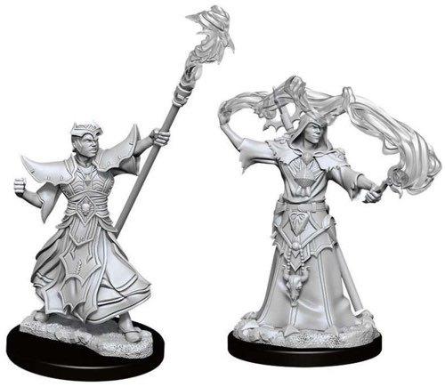 Pathfinder Battles Deep Cuts - Male Human Sorcerer