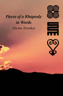 Pieces of a Rhapsody in Words by Otema Yirenkyi image