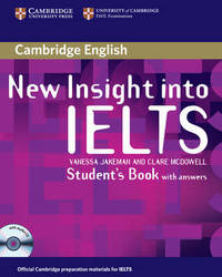 New Insight into IELTS Student's Book Pack by Clare McDowell image