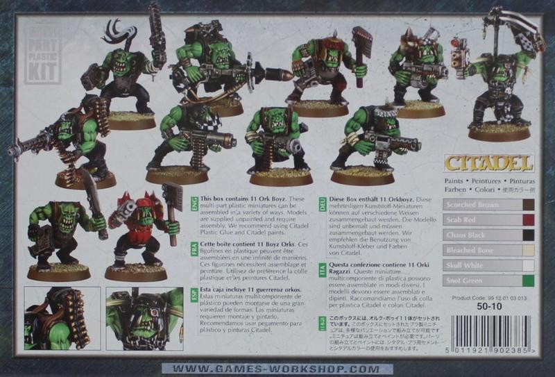 Warhammer 40,000 Ork Boyz image