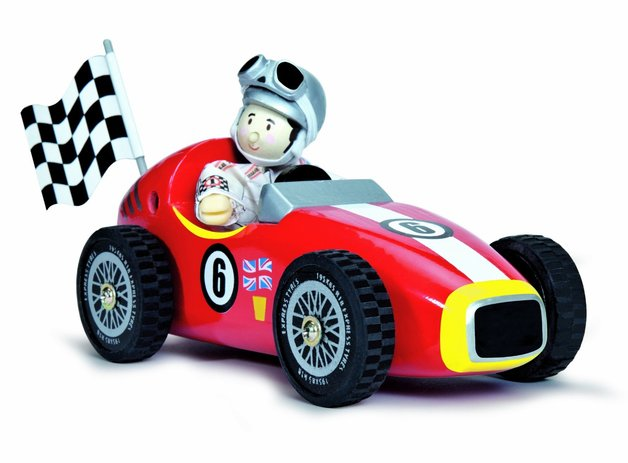 Le Toy Van: Budkins - World Red Retro Racer and Budkin